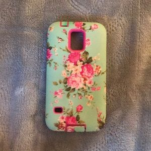 Accessories - Floral Phone Case (Samsung Galaxy S5)